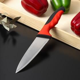 Нож-шеф Bull, лезвие 15 см, цвет красный