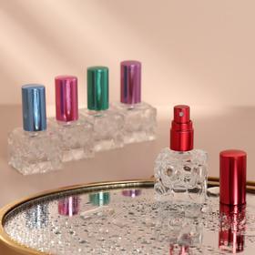 Флакон для парфюма с распылителем, 8 мл, цвет МИКС Ош