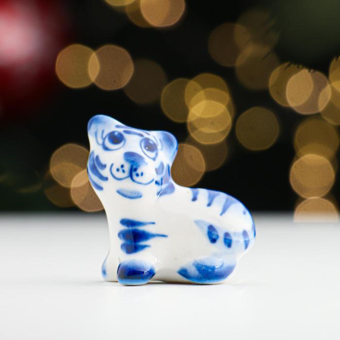 Сувенир Тигр Вайлд, одноцветный, 3,5 см