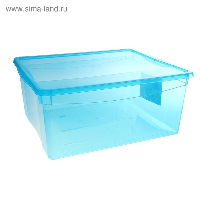"""Ящик для хранения, прямоугольный 5 л """"Колор. Стайл"""", цвет МИКС"""