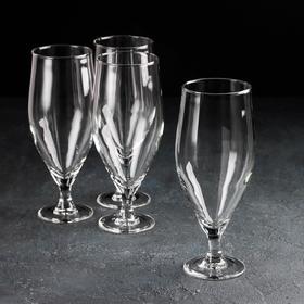 Набор бокалов для пива «Время дегустаций. Пивной тюльпан», 620 мл, 4 шт