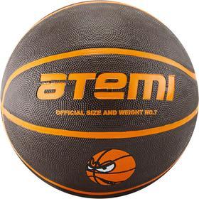Мяч баскетбольный Atemi BB12, размер 7, резина, 8 полос, окруж 75-78, клееный Ош
