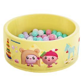 Сухой бассейн «Airpool Малышарики», цвет салатовый, без шариков