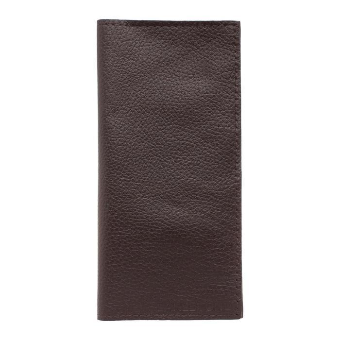 10555 Портмоне Byron н/к, 4 отд. для карт, 2 отд. для купюр, цвет Коричневый 9,5х19х1,5см