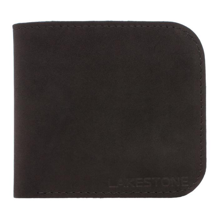 10191 Портмоне Upper н/к, 3 отдела для карт, 1 отдел для купюр, цвет Черный 10,5х9,5х1,5см