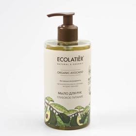 Мыло для рук Ecolatier Green «Глубокое питание», 460 мл