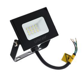 Прожектор светодиодный Luminarte LFL-10W/05, 10 Вт, 5700 К, 800 Лм, IP65, черный Ош