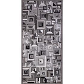 Ковёр прямоугольный Silver d239, размер 60x110 см, цвет gray