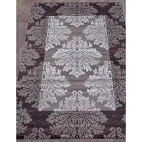 Ковёр прямоугольный Silver d213, размер 60x110 см, цвет gray-purple