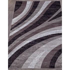 Ковёр прямоугольный Silver d234, размер 60x110 см, цвет gray-purple
