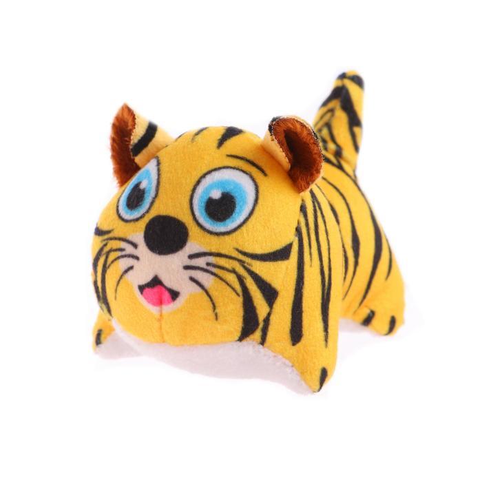 Мягкая игрушка Тигруля на присоске, цвет МИКС
