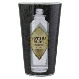 Бокал стеклянный Harry Potter Potion Glass, 450 мл