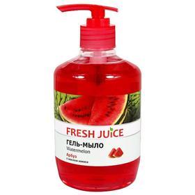 Жидкое гель-мыло Fresh Juice с глицерином «Арбуз», 460 мл