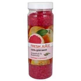 Соль для ванн Fresh Juice «Грейпфрут», 700 г