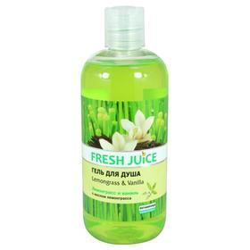 Гель для душа Fresh Juice «Лемонграсс и ваниль», 500 мл