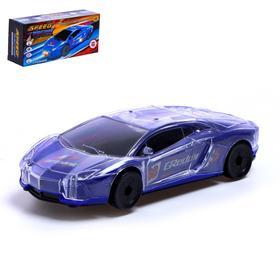 Машина «СпортКар», работает от батареек, световые и звуковые эффекты, МИКС