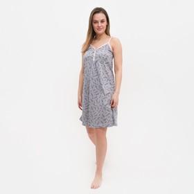 Ночная сорочка женская, цвет розовый, размер 42