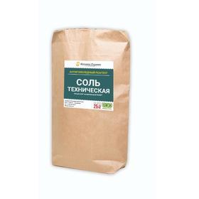 Соль техническая, 25 л, мешок Ош