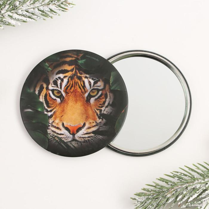 Зеркало Тигр, диам.7 см