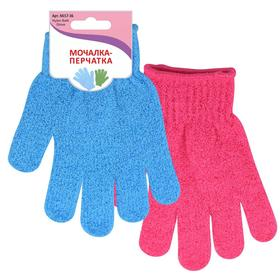 Мочалка-перчатка, МИКС
