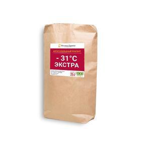 Реагент противогололёдный, 25 л, (соль, хлорид кальция), «Экстра -31» Ош