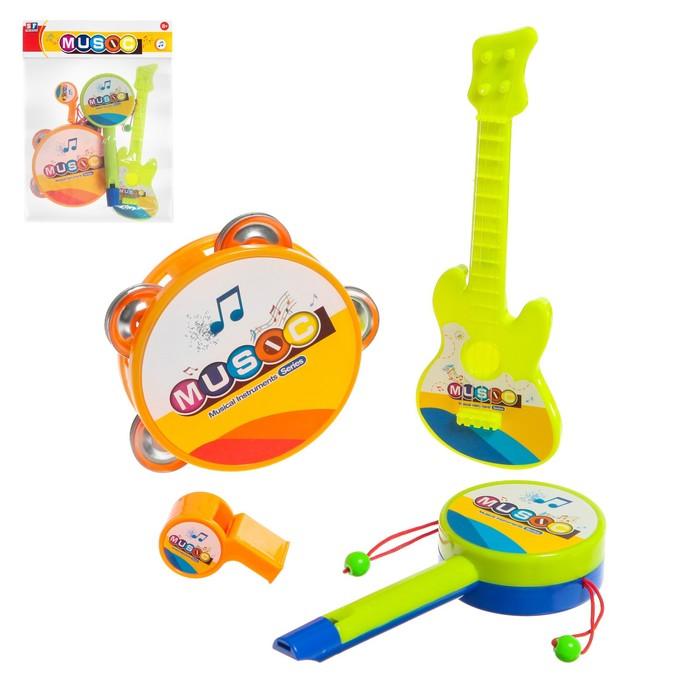 Набор музыкальных инструментов Оркестр, 4 предмета