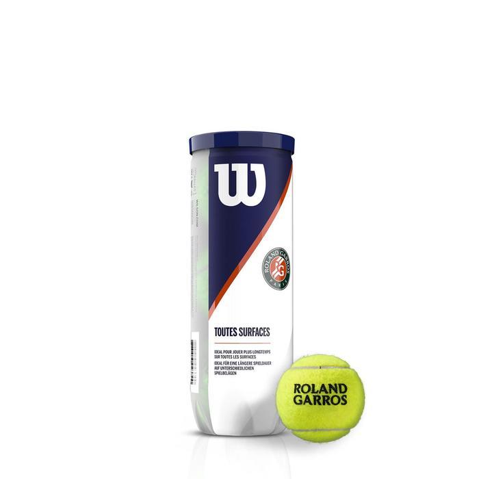 Мячи теннисные ROLAND GARROS ALL CT 3 BALL