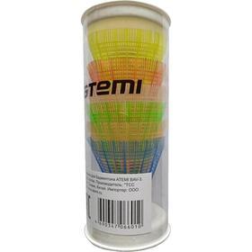 Набор воланов Atemi BAV-3, пластик, цветные, 6 шт Ош