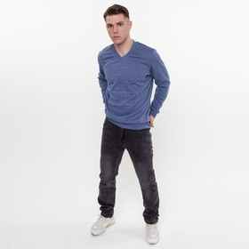 Джинсы мужские, цвет серый, размер 36 Ош