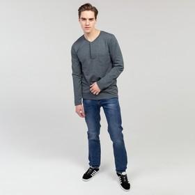 Джинсы мужские, цвет синий, размер 38 Ош