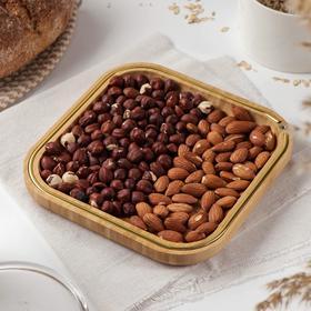 Блюдо для подачи Доляна «Цветение», 19,5×19,5 см, бамбук