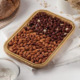 Блюдо для подачи Доляна «Цветение», 29×29 см, бамбук