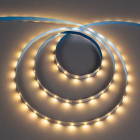 Светодиодная лента ЭРА, 12В, SMD2835, 5 м, IP20, 4.8Вт/м, 60 LED/м, 2700К