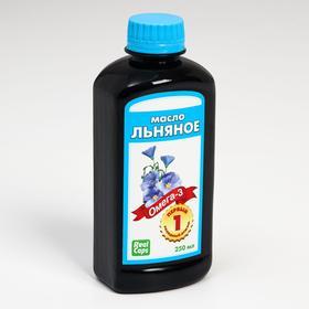 Льняное масло первого холодного отжима, 250 мл