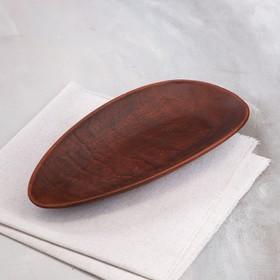"""Блюдо для подачи """"Селёдочница"""", красная глина, 28х13х3.5 см"""