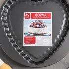 Форма для выпечки Доляна «Ренард», 27×3,5 см, антипригарное покрытие, цвет чёрный - Фото 4
