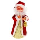 Дед Мороз, со свечой, крутящийся, без музыки