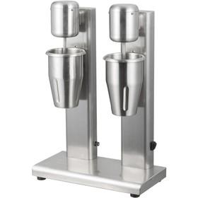 Миксер для коктейлей VIATTO VA-MS22, стационарный, 160 Вт, 2х1 л., 2 скорости, серебристый Ош