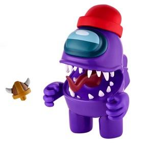 Фигурка Among Us Action, цвет фиолетовый, 11,5 см