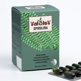 Капсулы ValulaV Спирулина, 60 шт. по 500 мг