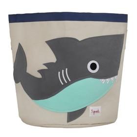 Корзина для хранения Shark, цвет серый