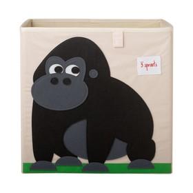 Коробка для хранения Gorilla, цвет чёрный