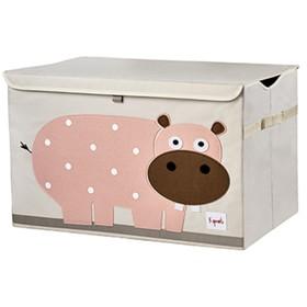 Сундук для хранения игрушек Hippo, цвет розовый
