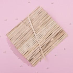 Деревянный размешиватель, 17,8×0,5 см, фасовка 500 шт Ош