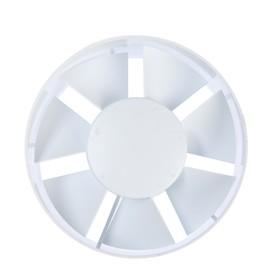 Вентилятор канальный TDM ВКО-125, d=125 мм, белый Ош