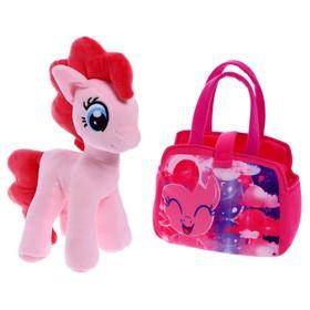 """Мягкая игрушка """"Пони Пинки Пай"""" в сумочке, My Little Pony, 25 см 12074"""