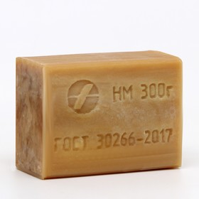 """Мыло хозяйственное """"Аист"""" 72% без упаковки, 300 г"""