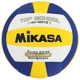 Мяч волейбольный Mikasa ISV100TS, размер 5, клееный