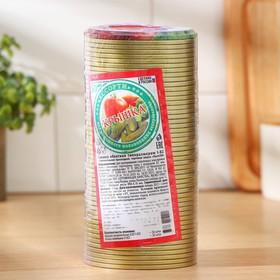 Крышка для консервирования, d = 82 мм, толщина 0,18 мм, упаковка 50 шт Ош