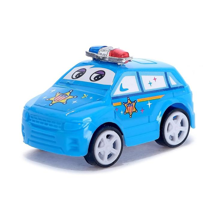Машина инерционная Полиция, цвета МИКС